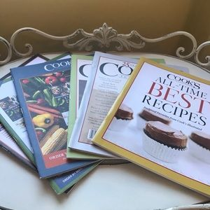 Cook's Illustrated Magazines Bundle of 6